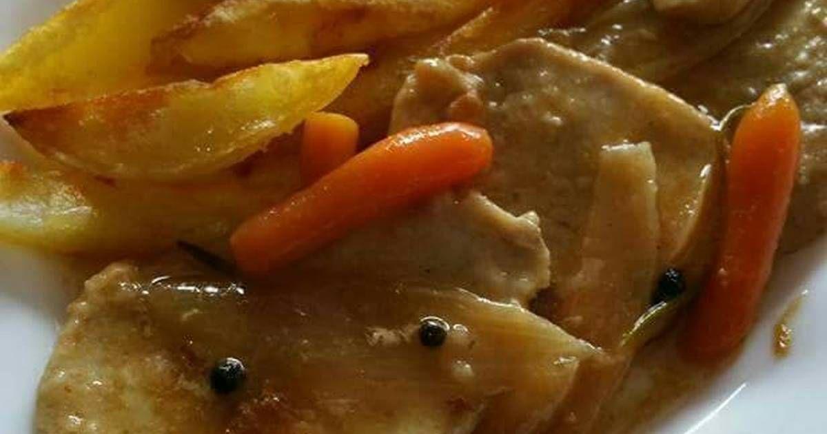 Filetes De Lomo En Salsa Receta De Hortensia Alvarez Acal Receta Lomo En Salsa Filete De Cerdo Filete De Lomo De Cerdo