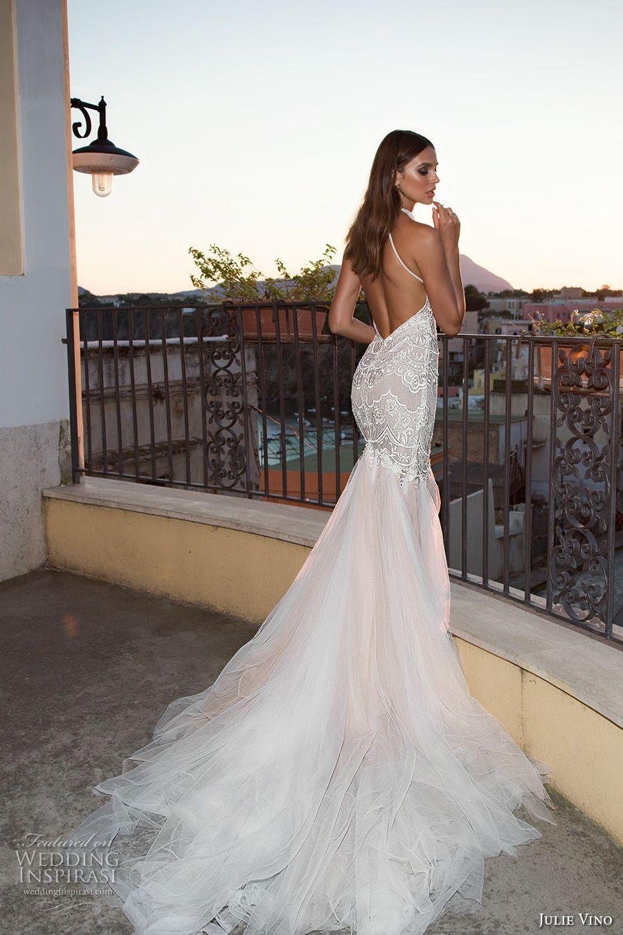Elegant fitted wedding dresses  Julie Vino Fall  Wedding Dresses u ucNapoliud Bridal Collection