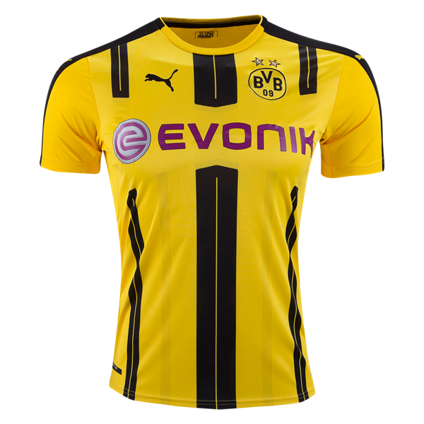 Borussia Dortmund 16/17 Home Soccer Jersey ☆ Get Match Ready for the 2016/