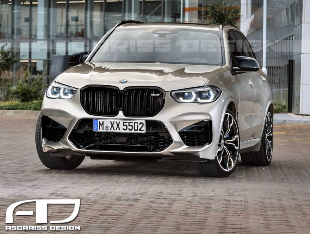 New Rendering Of The 2020 Bmw X5 M Bmw X5 M Bmw Bmw X5