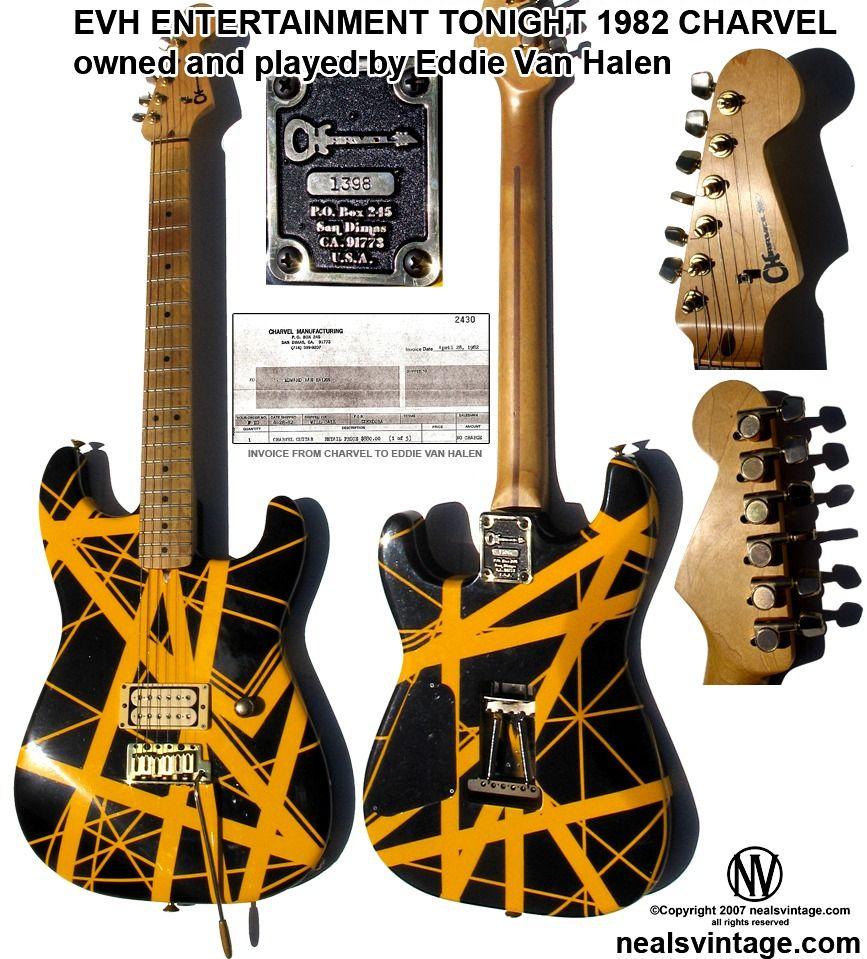 Van Halen Eddie Van Halen Van Halen Guitar