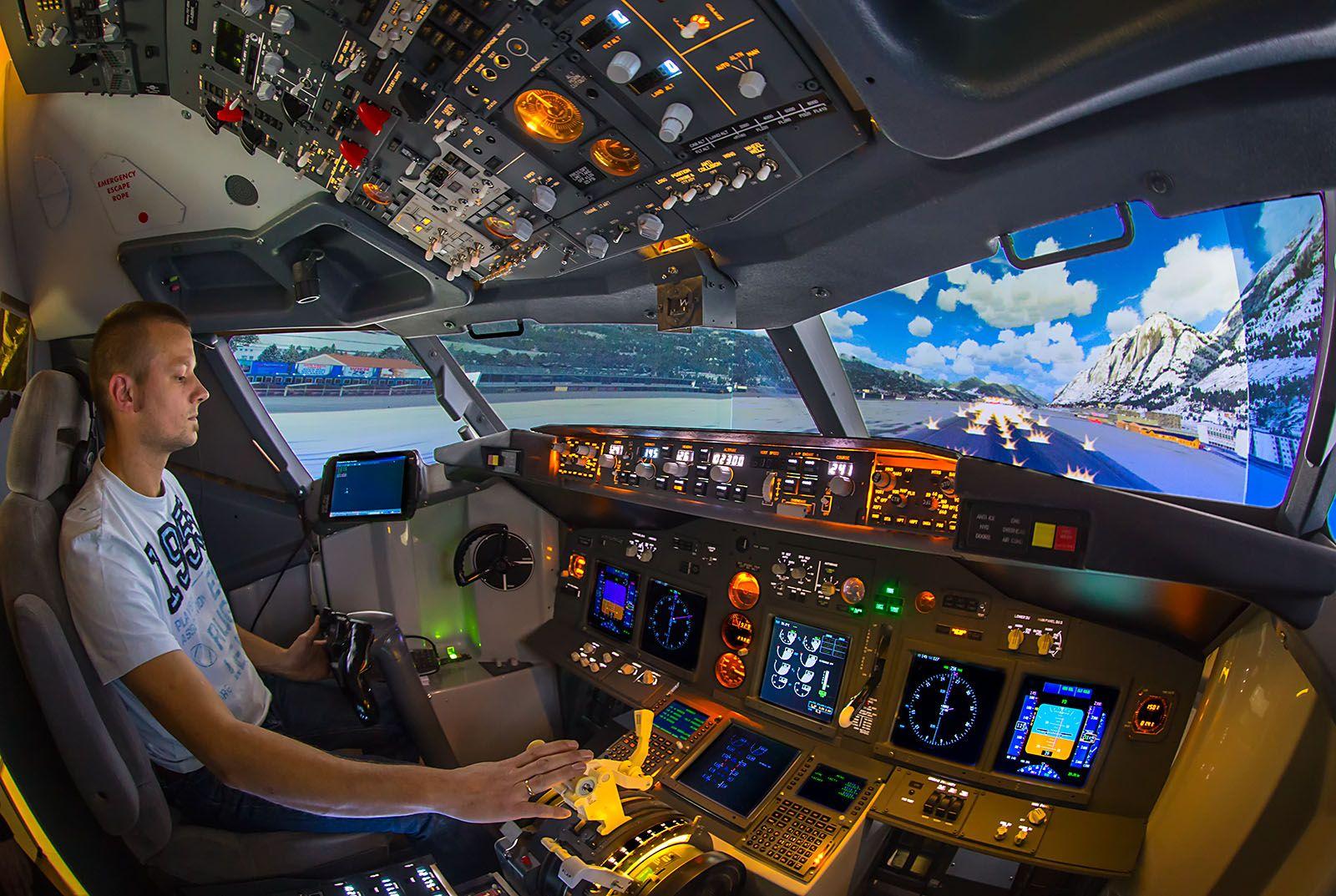X Plane Simulation Video Game Rooms Flight Simulator Cockpit