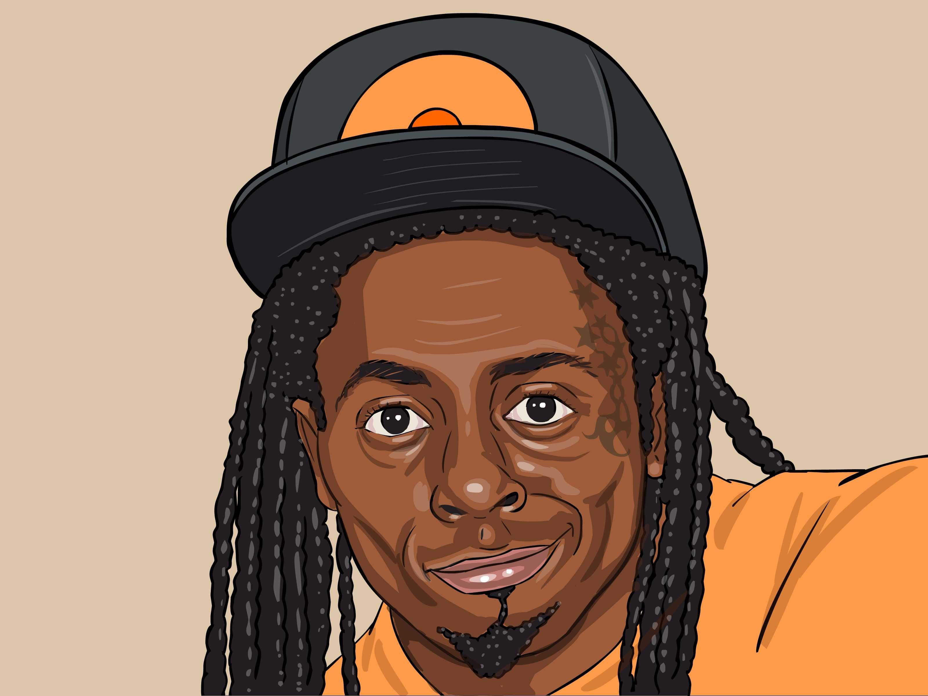 Lil Wayne Clipart Clipground Rapper Art Hip Hop Art Cartoon Art