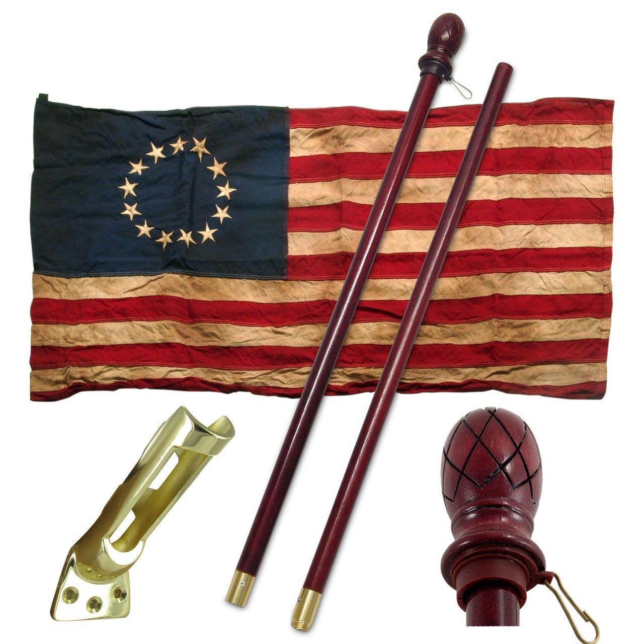 Valley Forge Usa Heritage Series 13 Star Flag Kit Liberty Flag Shop Displaying The American Flag Flag Shop Liberty Flag