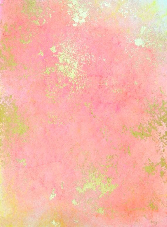 Rose Gold Abstract Background Original Artwork