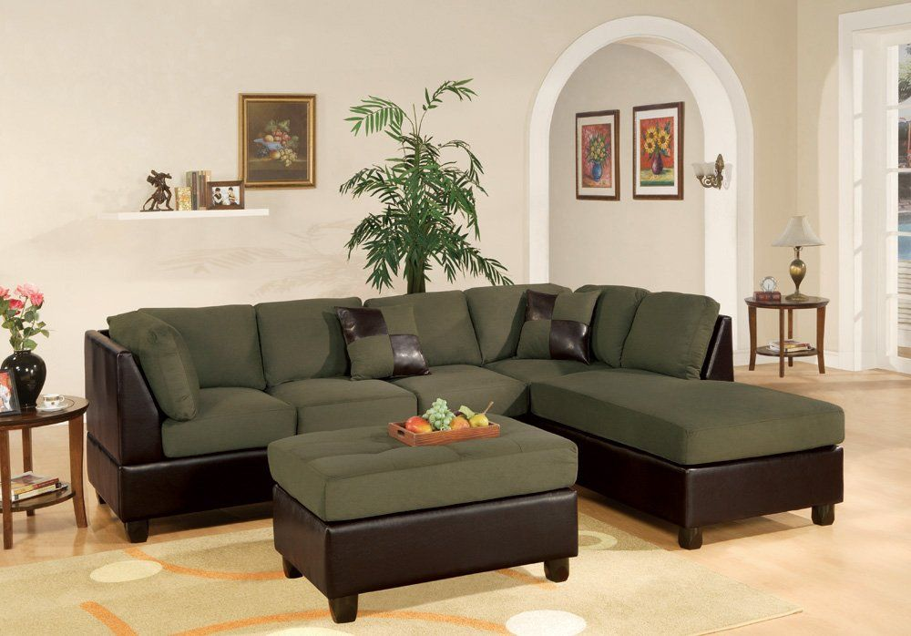 Admirable Sacramento Sage Sectional Sofa With Right Facing Chaise At Bralicious Painted Fabric Chair Ideas Braliciousco