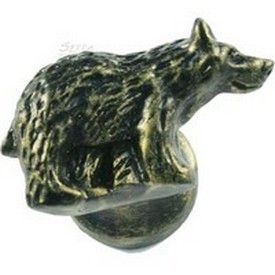 Sierra Lifestyles, Bear Cabinet Knob   Right Facing   Bronzed Black From Cabinet  Knobs And More