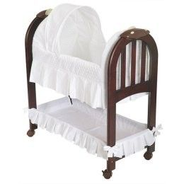 Eddie Bauer® Wood Bassinet - Cherry review at Kaboodle