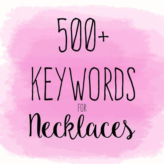 11++ Best seo keywords for jewelry information