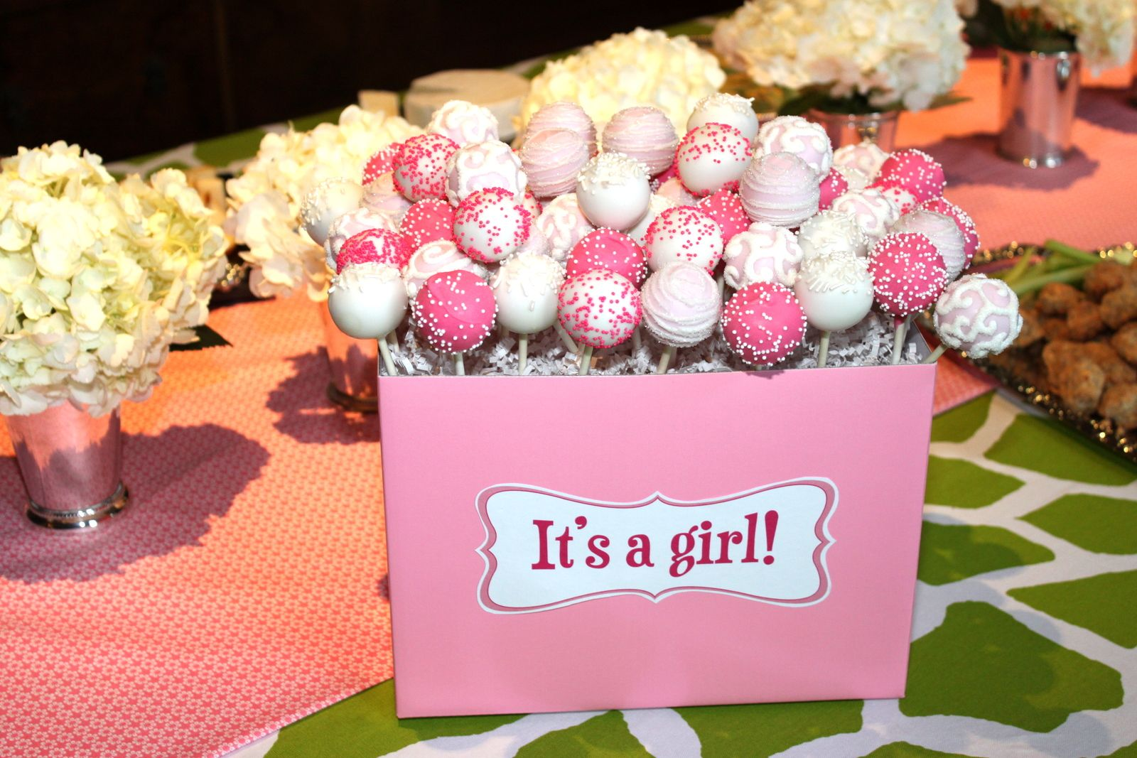 Cake Pops Cute With Images Baby Shower Cake Pops