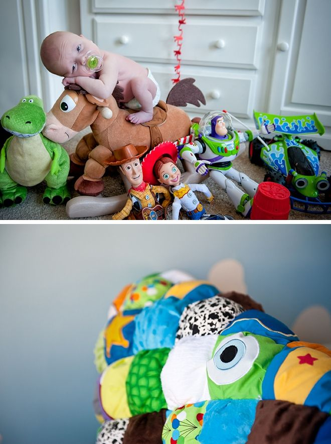 Pixar Nursery And Infant Session By Voula Trip Photography