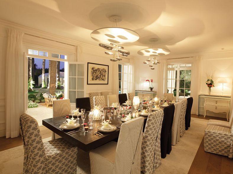 Une Salle à Manger avec un coté COSBY decoration cuisine