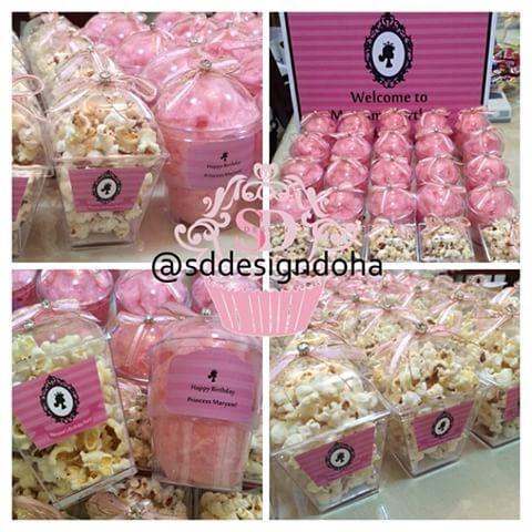 توزيعات البوبكورن الفوشار غزل البنات Cotton Candy Popcorn Favors Sweetest Day Sweet Instagram