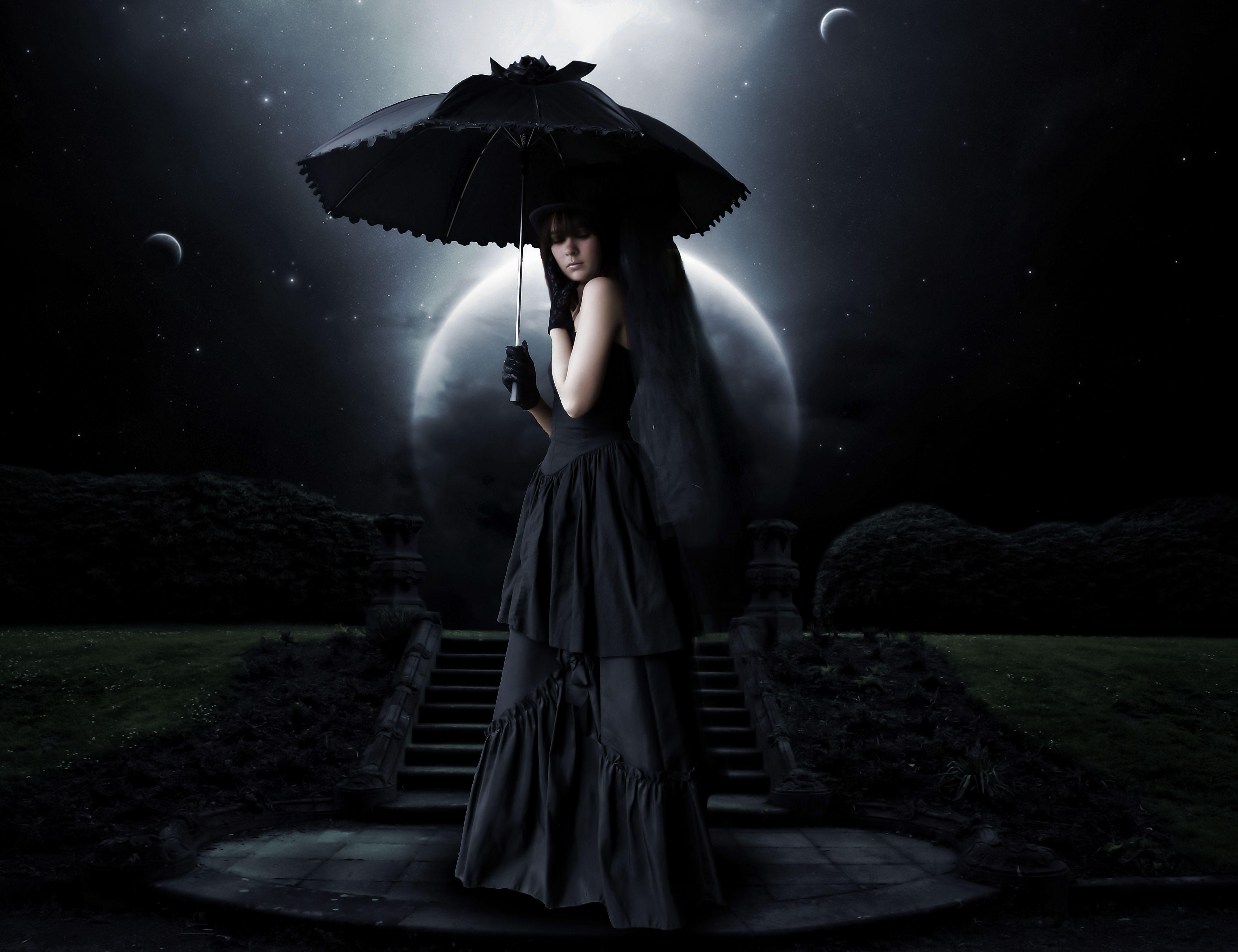 dark gothic moonlight goth wallpaper | dark | pinterest | gothic