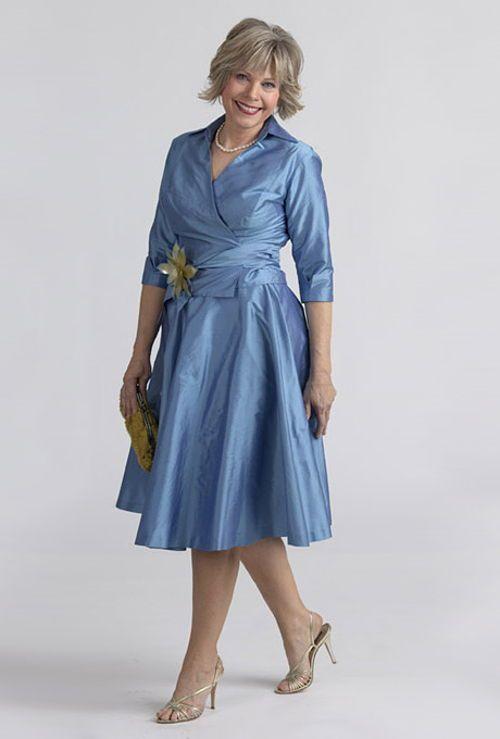 Vestidos formales para senoras de 50