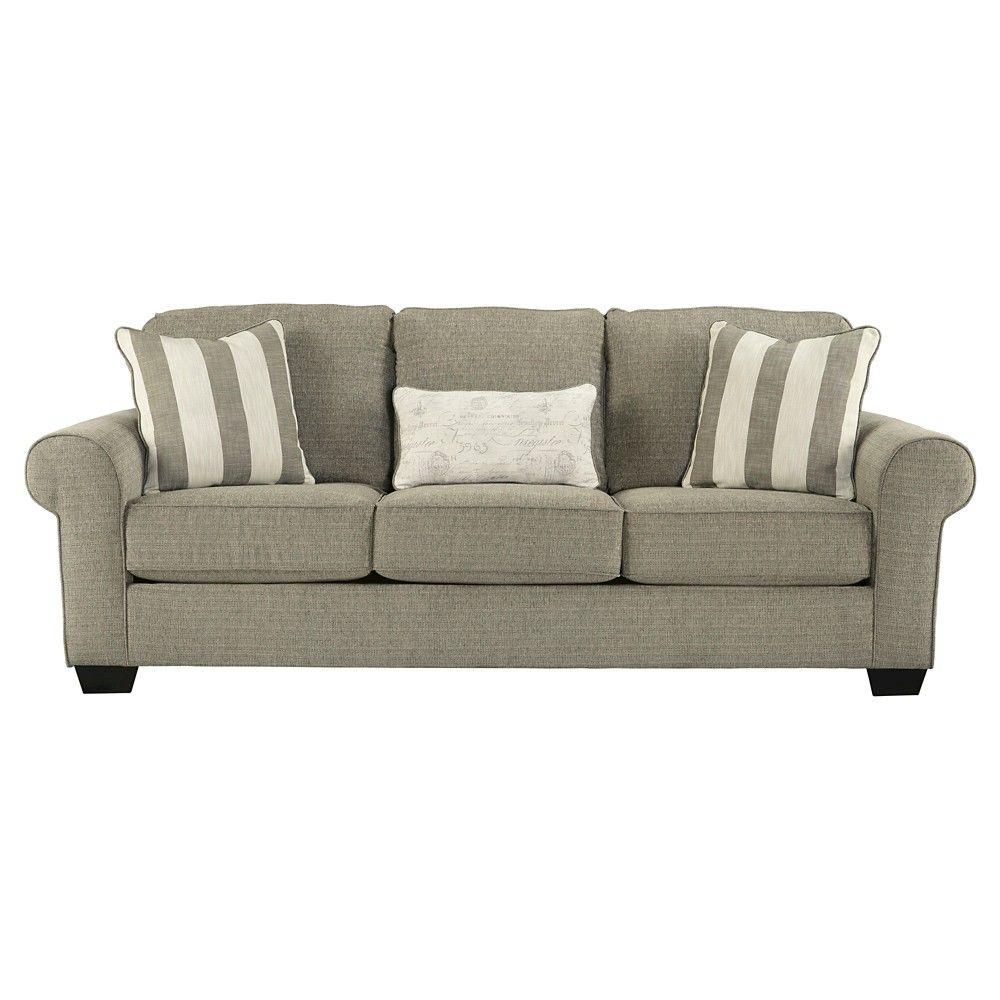 Remarkable Baveria Queen Sofa Sleeper Fog Signature Design By Ashley Machost Co Dining Chair Design Ideas Machostcouk