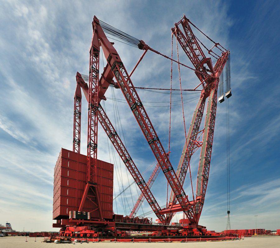 Super Heavy Lift Cap 3200 Tonnes Lift Hight 250 Metres
