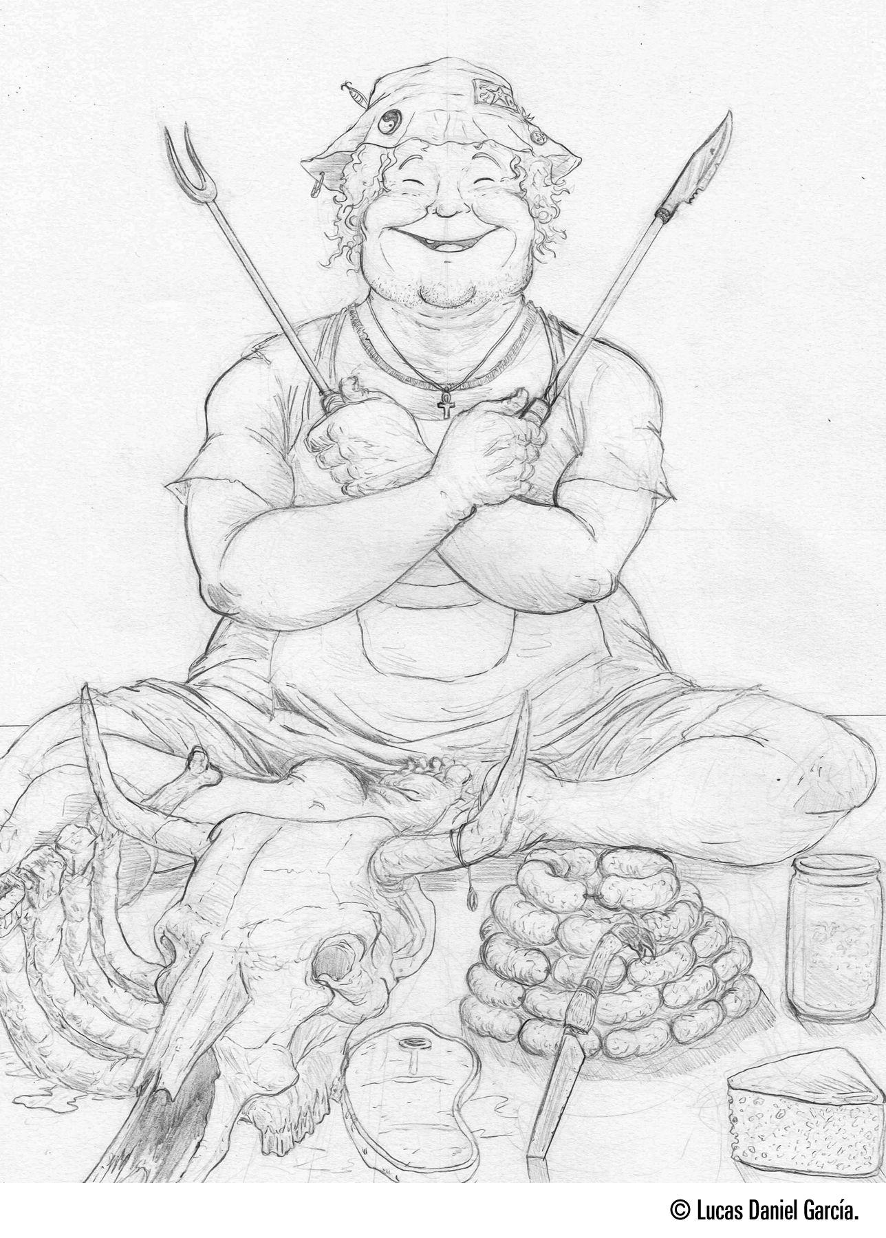 Barbecue Buddha