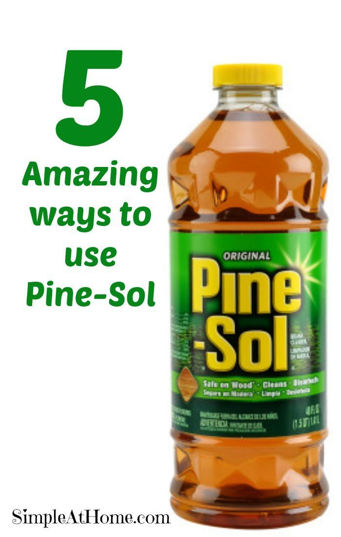 Simple Ways Use Pine Sol Home Cleaning