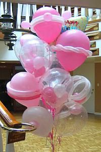 New York City Balloons Balloon Centerpieces NY Decorations NYCNew Party Ballloons