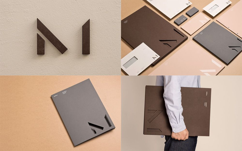 Logo And Identity By Olso Based Heydays For Norwegian Architecture Firm Mellbye