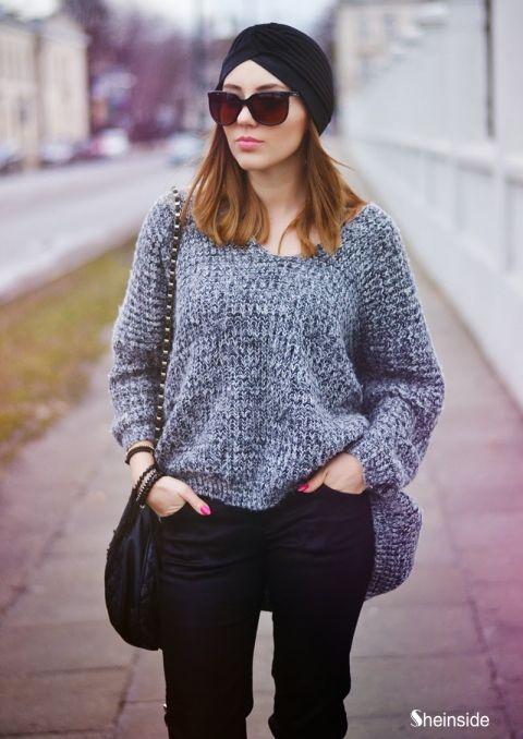 Loose Gray sweater