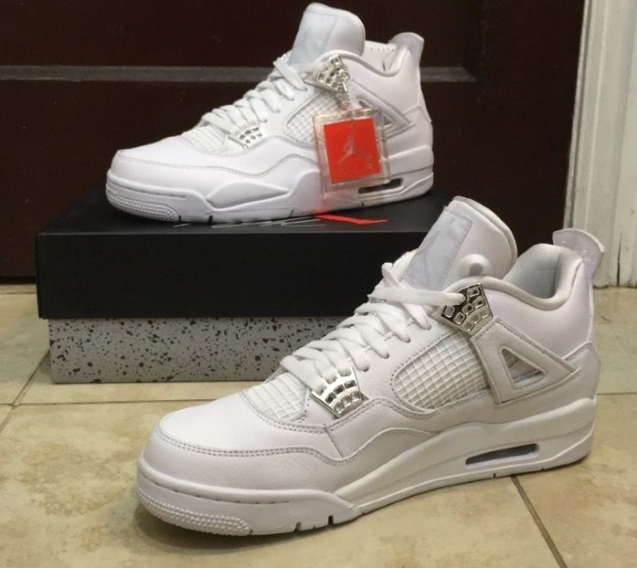 Copped these super clean Pure Money 4s