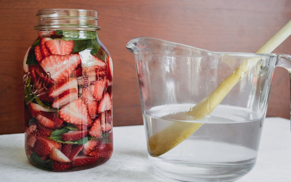 This Strawberry-Infused Vodka Recipe Will Make Staying Indoors So Much Sweeter