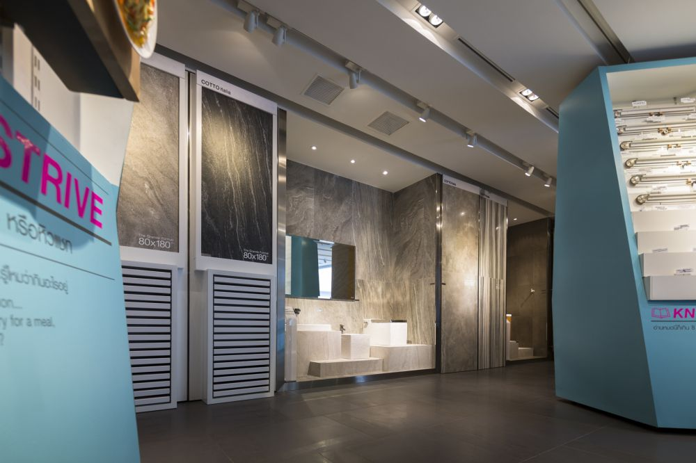 The Flagship Showroom Of Cotto The Biggest Thai Ceramic Tile And