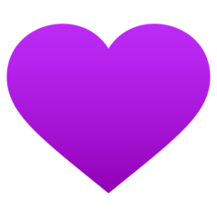 Purple Heart Emoji In 2021 Heart Emoji Purple Heart Purple