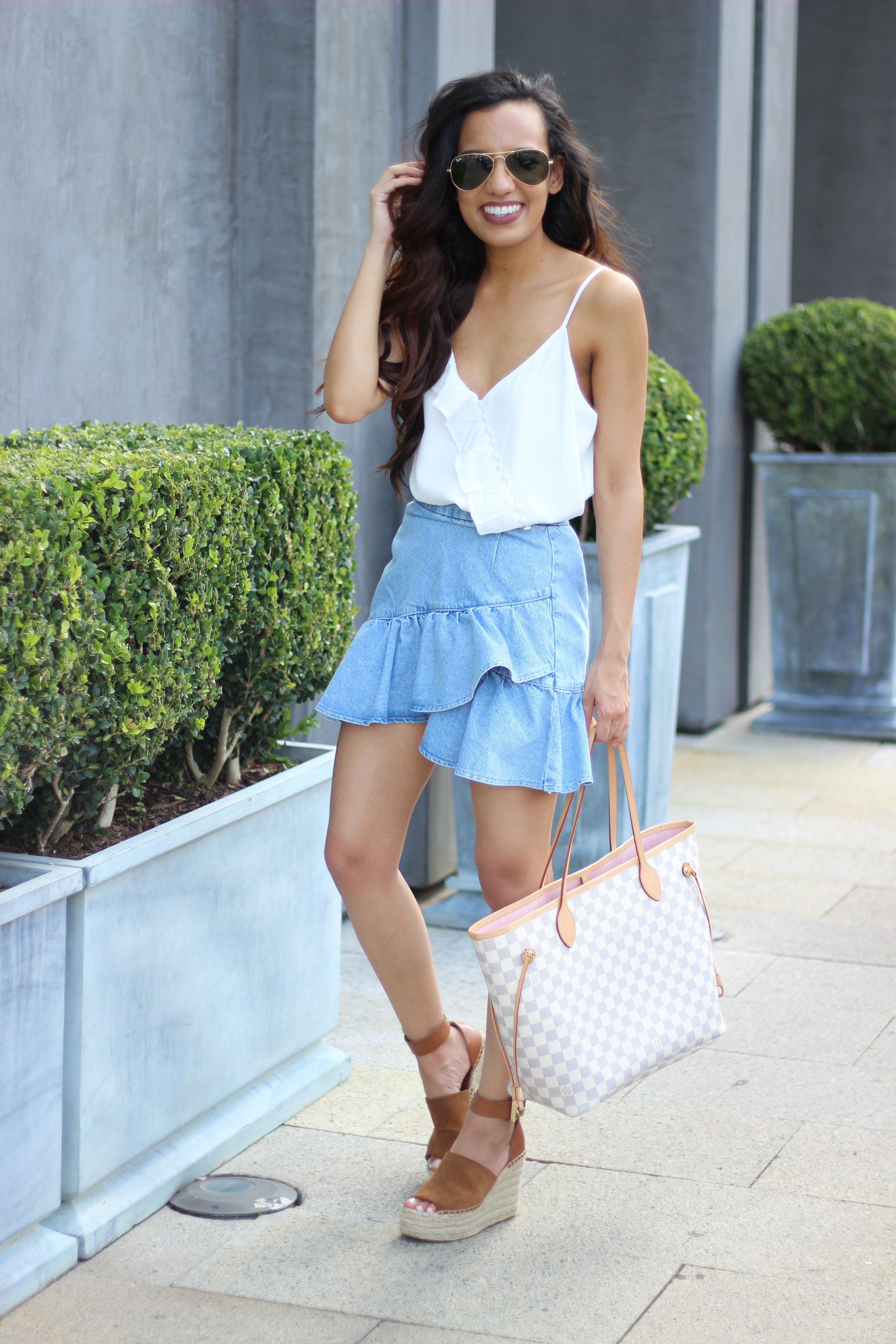 0e2c5e745de How to Get Items Price Matched at Nordstrom Wedges Outfit