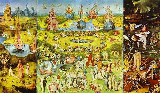 Garden Of Earthly Delights By Hieronymus Bosch Garden Of Earthly