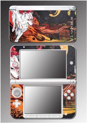 Okami Okamiden Amaterasu Woft Dog Paint wii Video Game Vinyl Decal Cover Skin Protector for Nintendo 3DS XL , http://www.amazon.com/dp/B00A3ISJDY/ref=cm_sw_r_pi_dp_0s.qub0A988X4