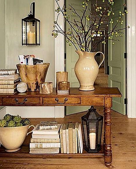 estilo country entry table decorationsconsole - Entry Table Decor