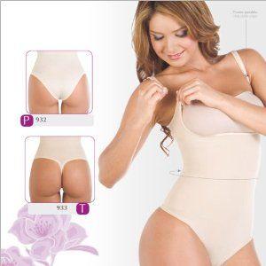 755b98077cff0 Corsé Body Suit Lycra - Nylon . Braless. Adjustables Straps. Panty type.  Faja