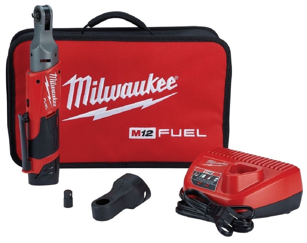 Milwaukee 2556 21 12v Li Ion Cordless 1 4 Ratchets M12 Fuel Battery Kit New Milwau Ratchet Milwaukee Fuel Milwaukee