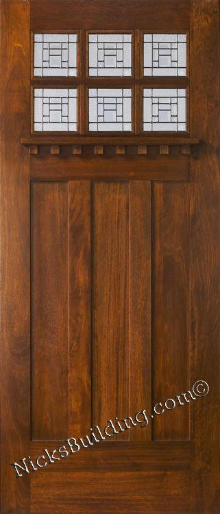 New Exterior Doors #artsandcrafts #greenvillscrealestate #greenvilleschomerestoration