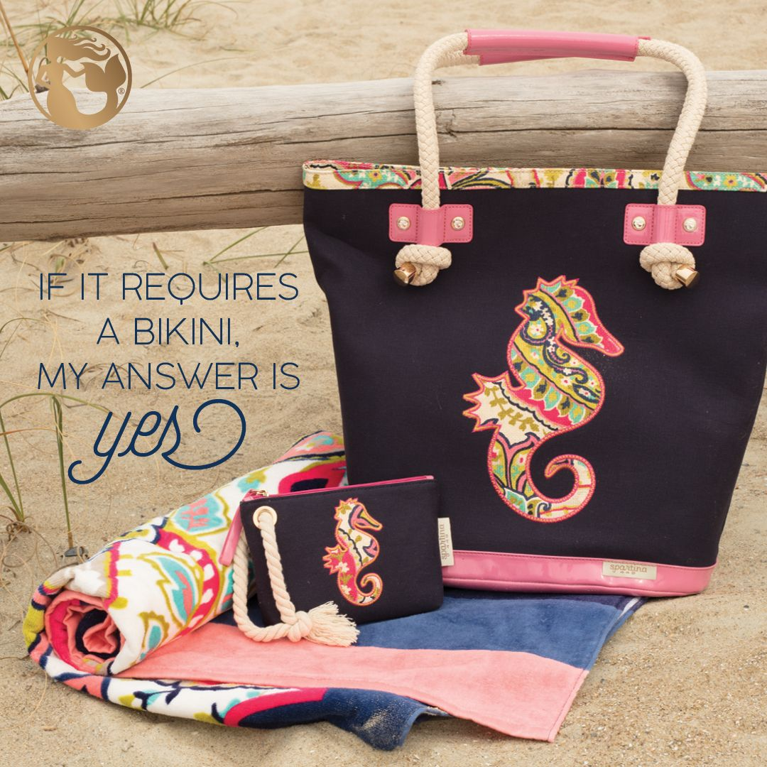 Spartina 449 Beach Bags and Accessories | Sea Horse | Boho ...