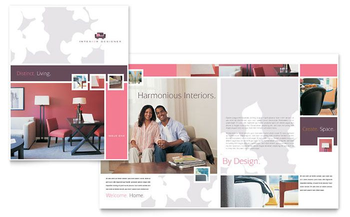 Interior Designer Brochure Design Template By StockLayouts