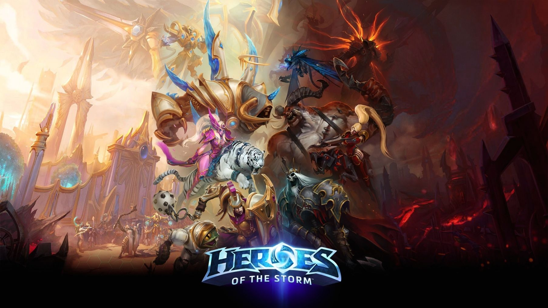Beautiful Heroes Of The Storm Wallpaper Heroes Of The Storm