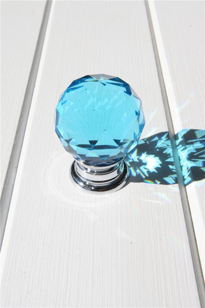 Aqua Door Knobs-Kitchen Door Knobs-Crystal Door Knobs-Door Handles ...