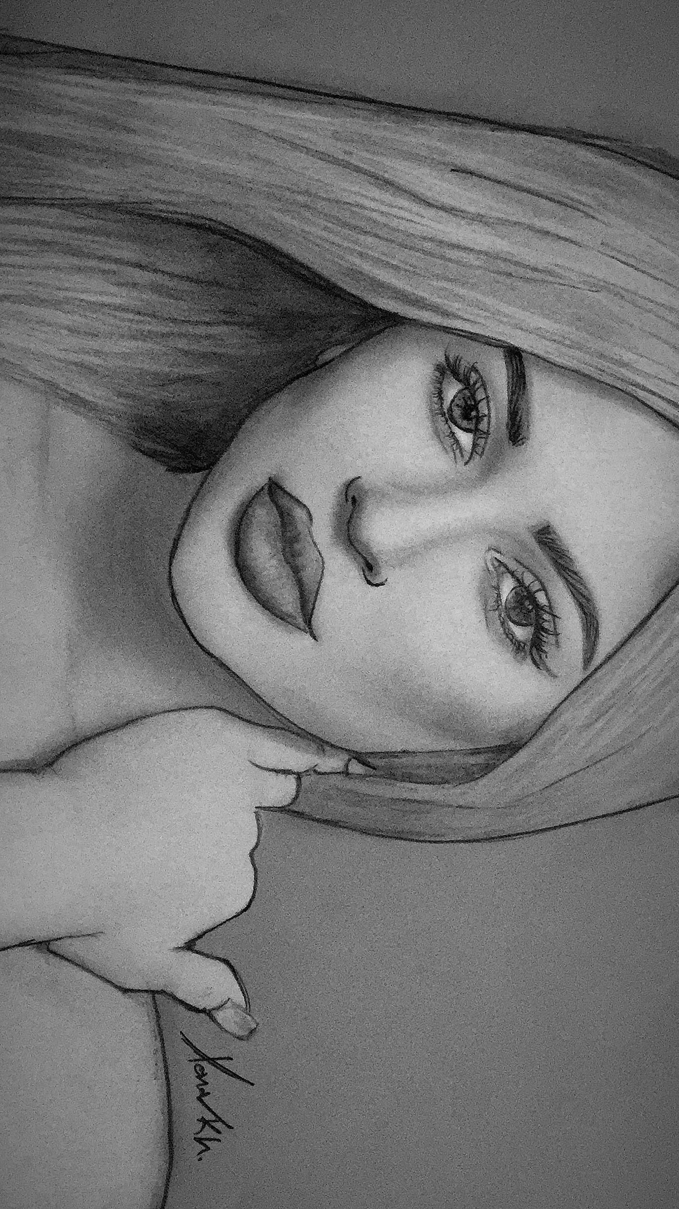 Kylie Jenner Drawing Sketch Paint Kylie Lipstick Art