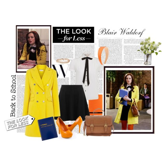 Blair Waldorf's School Uniform by kikusek