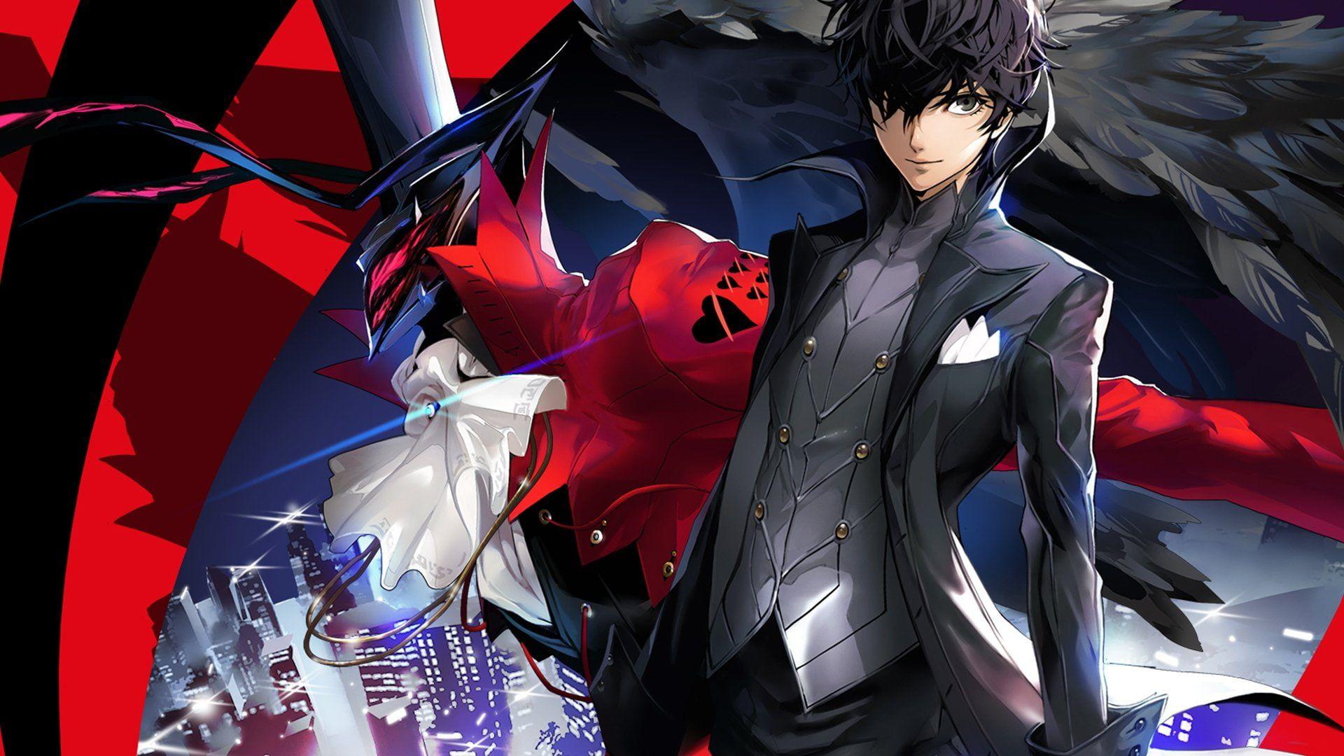 Persona Persona 5 Anime Joker Persona Video Game 1080p Wallpaper Hdwallpaper Desktop In 2020 Persona 5 Persona 5 Joker Persona 5 Anime