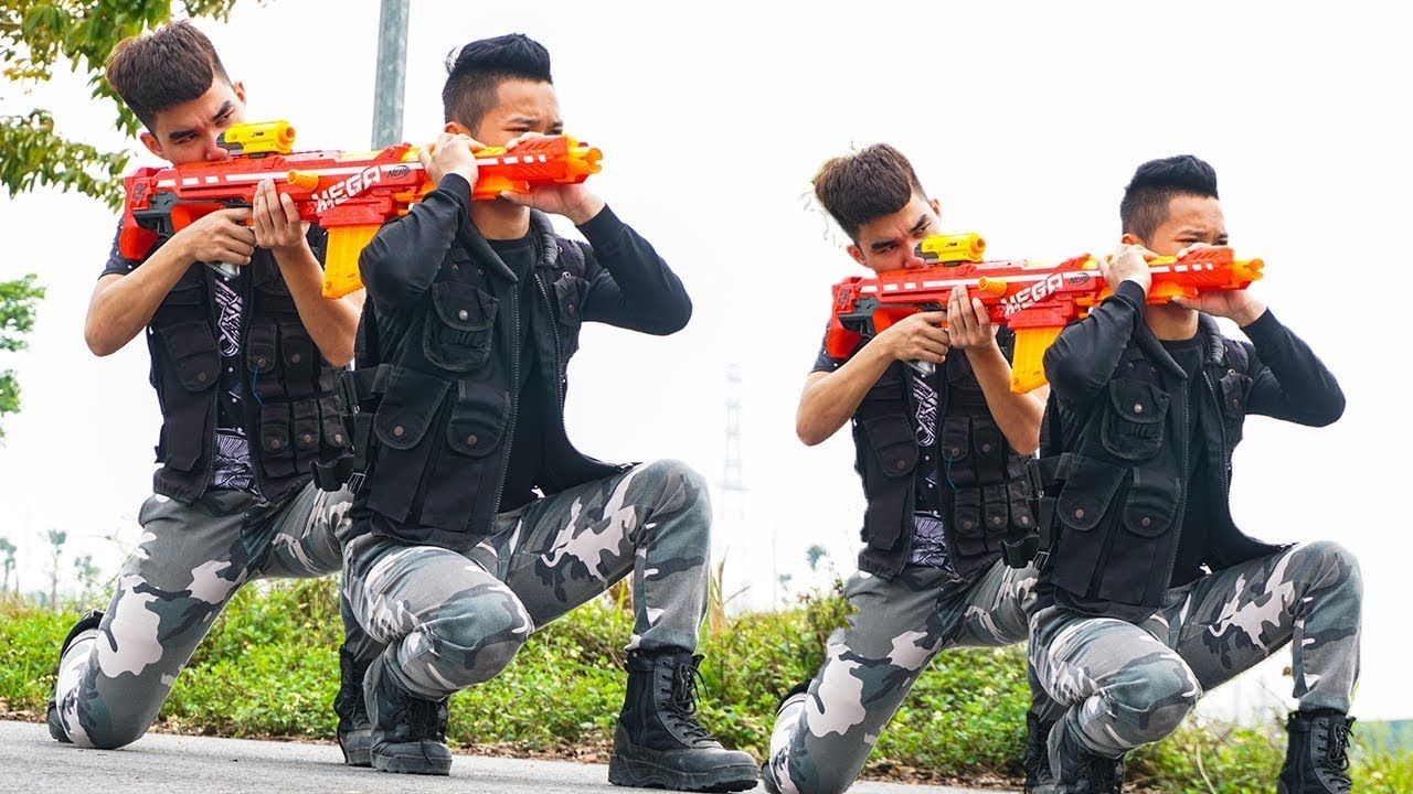 Hihahe Nerf War: SWAT & Regiment Army Nerf Guns Special Forces Rescue Pr..