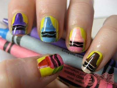 Back to School Nails:The Daily Nail: Outside the Lines