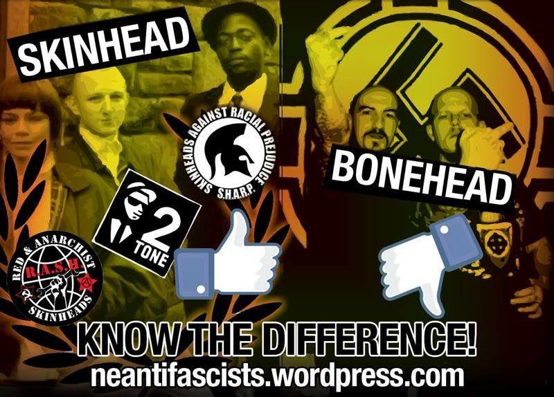 Anti racist skinheads