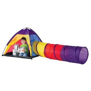 Like the bright colors and the tent/tunnel combo.  sc 1 st  Pinterest & Discovery Kids Indoor/Outdoor play tent. Like the bright colors ...
