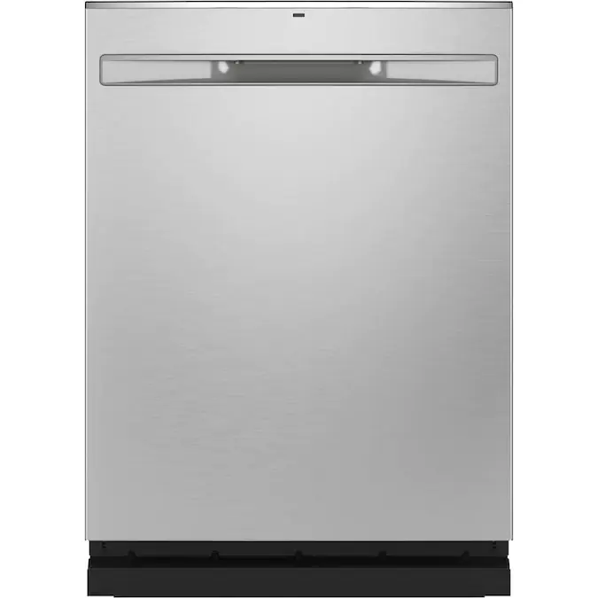 Ge Dry Boost 48 Decibel Top Control 24 In Built In Dishwasher Fingerprint Resistant Stainless Steel Energy Star Lowes Com Built In Dishwasher Steel Tub Dishwasher