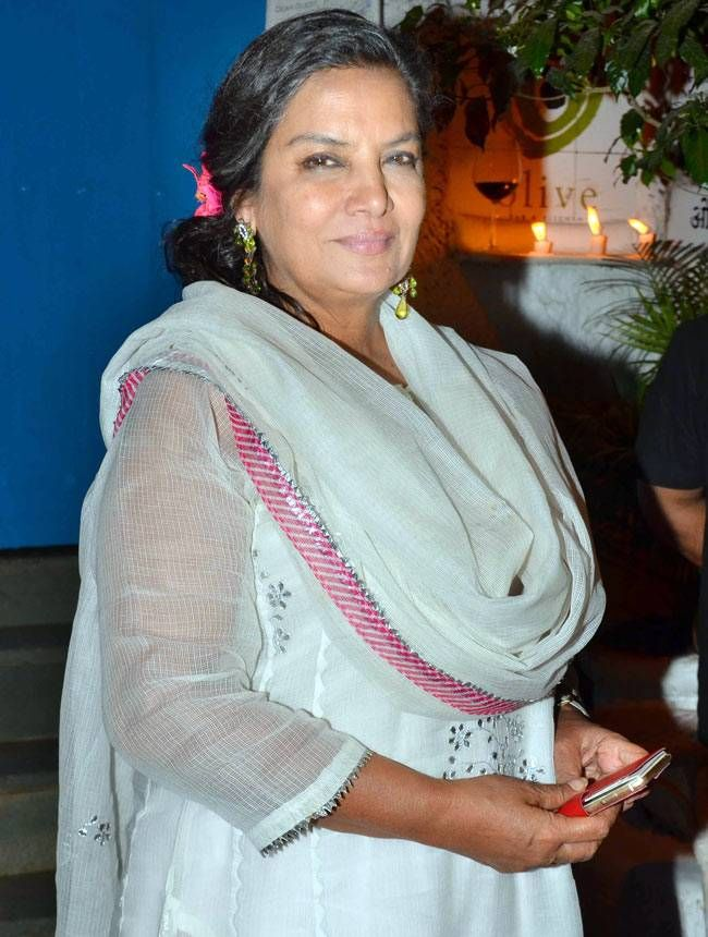 Shabana Azmi at Neerja success bash